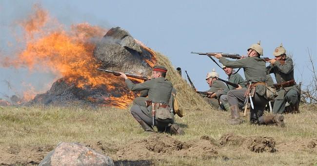 Key World War I battle re-enacted in Poland