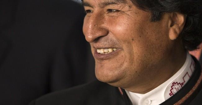 Bolivian president seeks votes in the bedroom