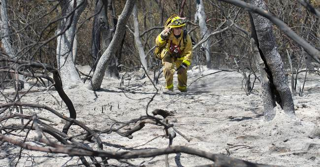 Correction: California Wildfires story