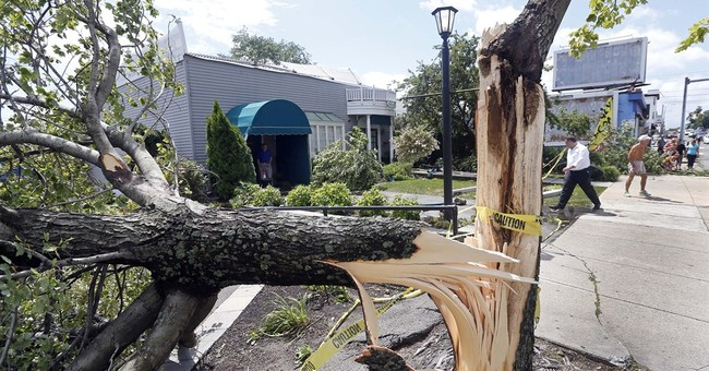 Tornado rips off roofs, downs trees near Boston
