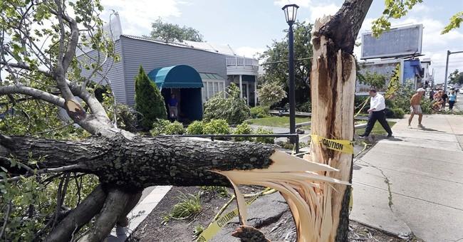 Tornado rips off roofs, downs trees near Boston