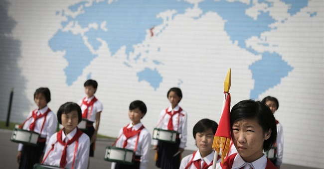 AP PHOTOS: NKorea opens summer  camp for kids