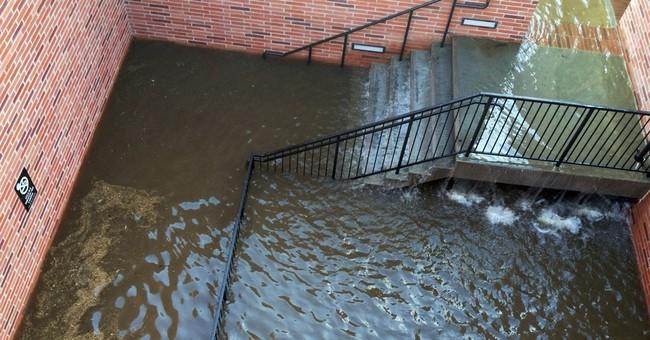 Broken water main floods UCLA; 5 people rescued