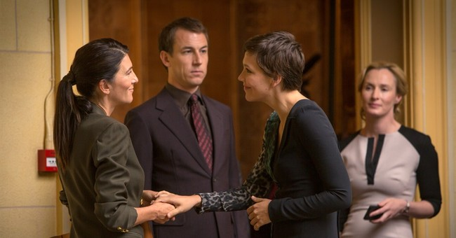 Maggie Gyllenhaal glows as 'The Honorable Woman'