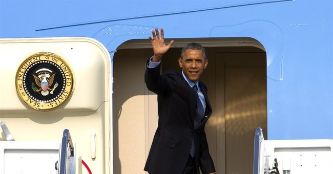 Obama eats ribs with 4 Kansas City letter writers