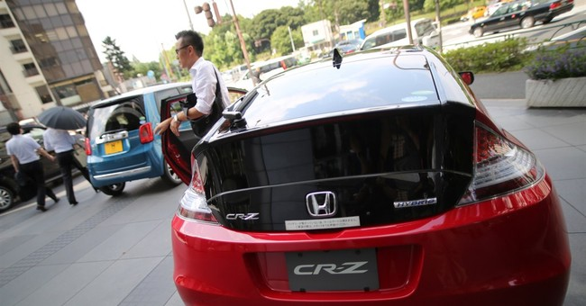 Honda's quarterly profit up on Asian sales growth