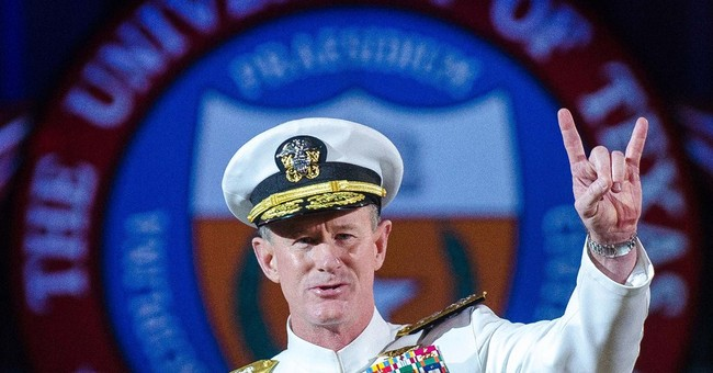 Texas regents pick McRaven as chancellor finalist