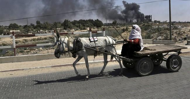 Israel hits symbols of Hamas rule; 128 killed