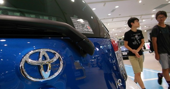 Toyota remains at top in sales after first half