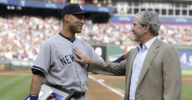 Jeter gets presidential farewell in Texas