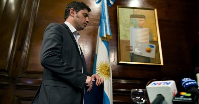 Default fuels uncertainty, stock drop in Argentina