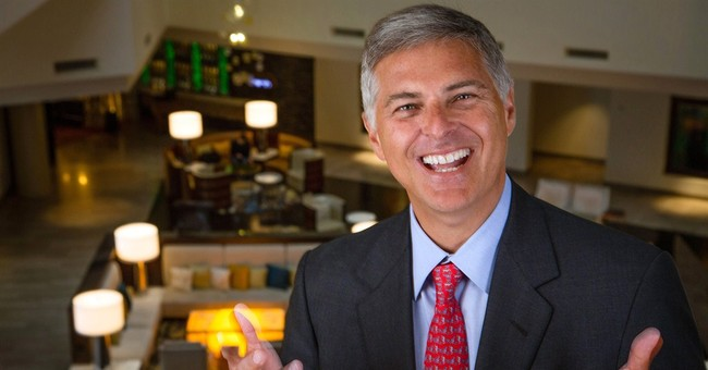 The man responsible for Hilton's grand turnaround