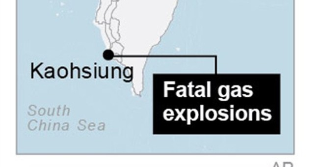 Evacuees return after Taiwan gas explosions