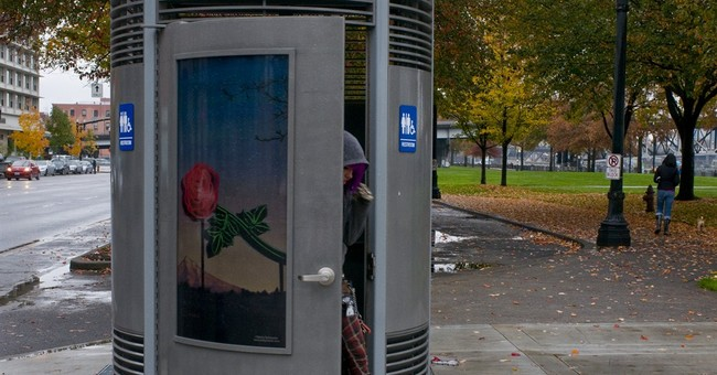 Portland, Oregon, flushes outdoor toilet business