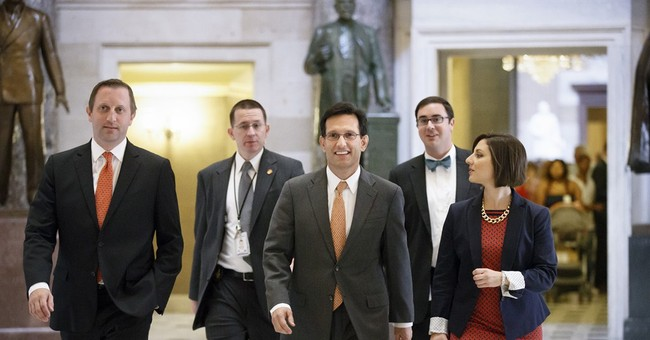 Eric Cantor steps down as House majority leader