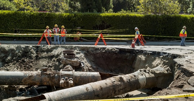 Sunset Boulevard reopens after flooding near UCLA