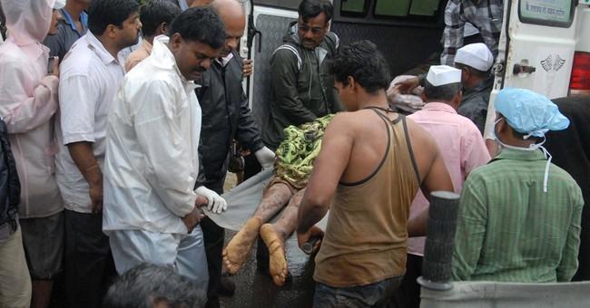 Landslide buries Indian village; at least 24 dead
