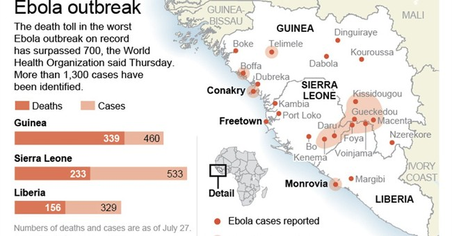 US warns against traveling to Ebola-hit countries