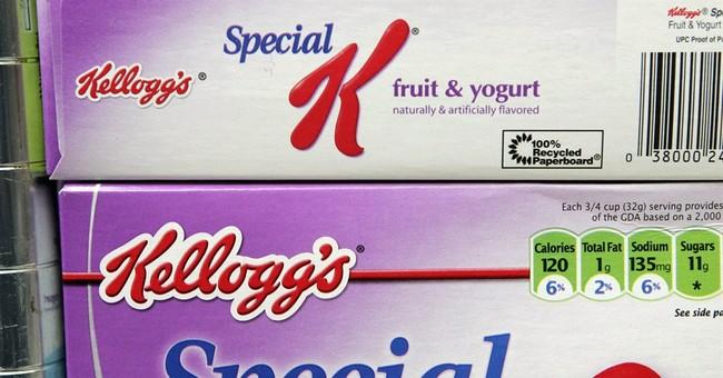 Kellogg's sales hurt as dieters drop Special K