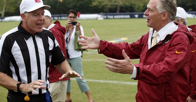 Virginia gov. sidesteps Redskins name debate