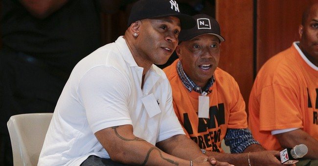 Russell Simmons, LL Cool J visit youth at NYC jail
