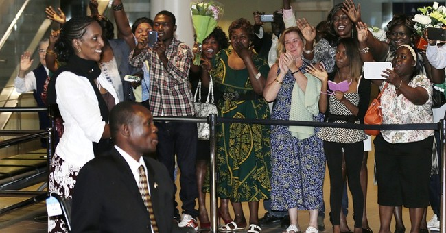 Sudanese family 'very tired,' thankful for freedom