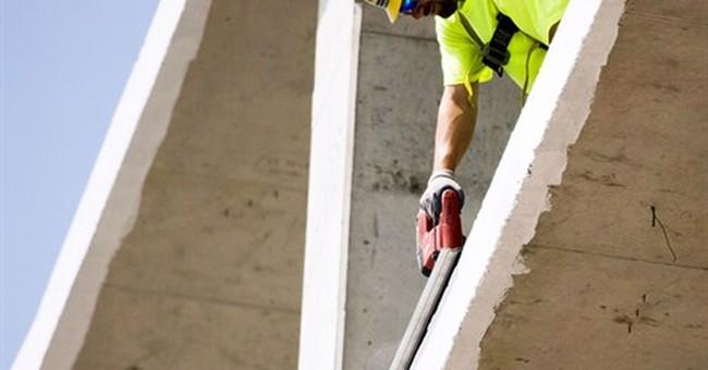 Construction spending falls 1.8 percent in June