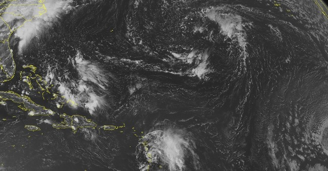 Tropical storm dumps rain in eastern Caribbean