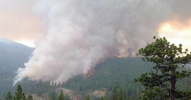 Lightning sparks dozens of new California fires
