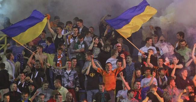 Ukraine, Russia spar over soccer in Crimea