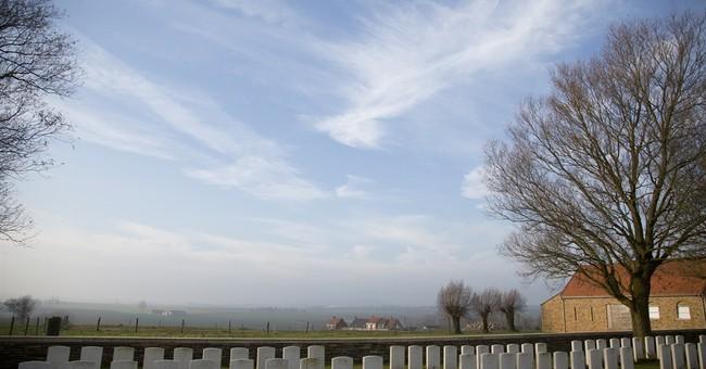 AP Photos: A Belgian landscape shaped by war
