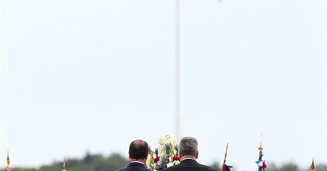 French president marks World War I centenary