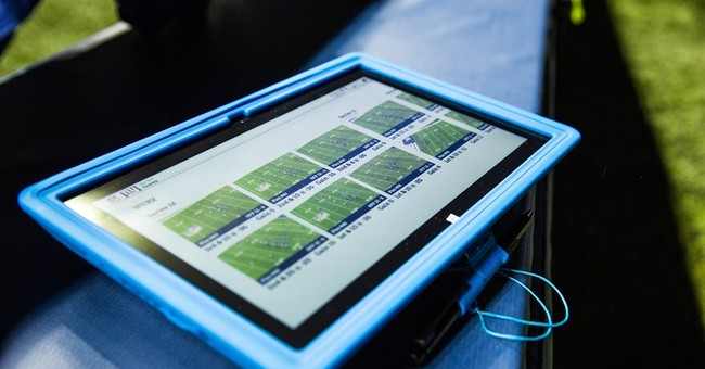 NFL sideline tech inches forward, still no video