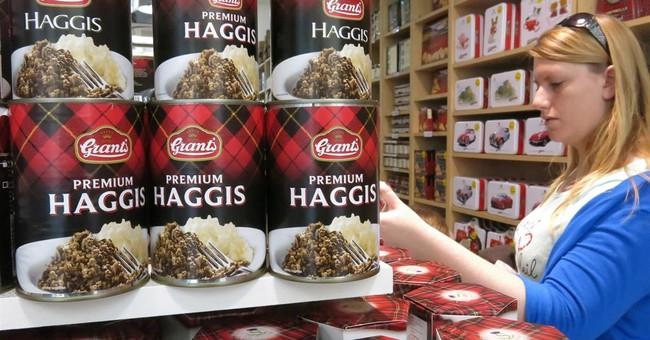 Haggis a potent symbol as Scotland decides future