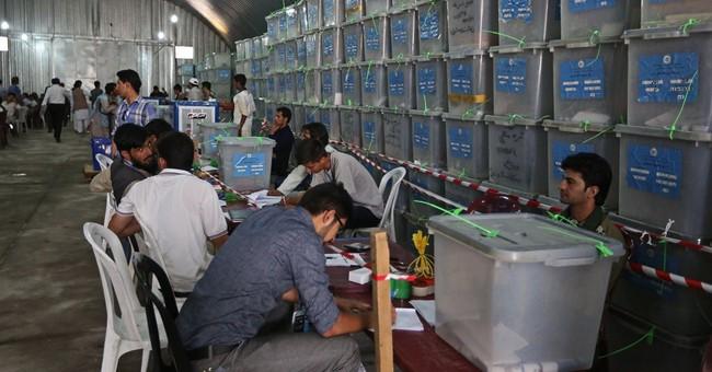 Afghan presidential candidates' teams join audit