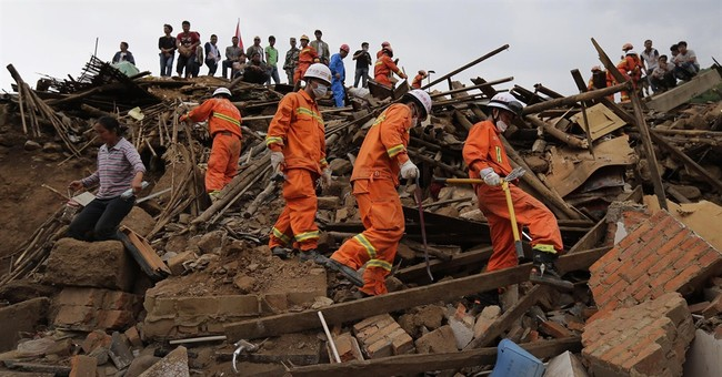 Death toll in southern China quake rises to 589