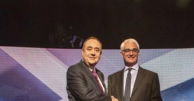 Rivals clash in Scottish independence debate