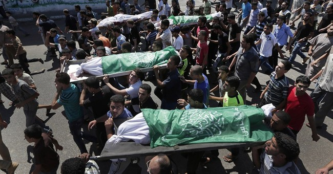 In Gaza war, violent death part of daily life