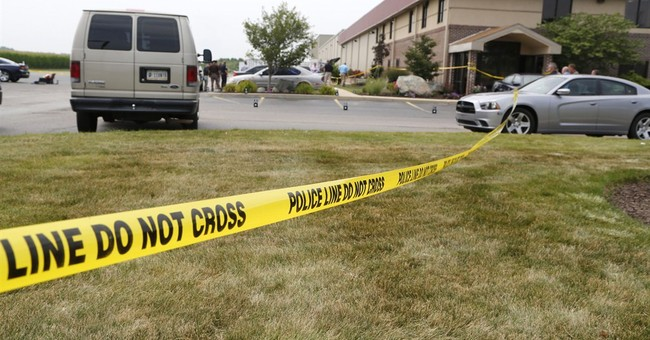 3 killed in shooting outside Indiana business