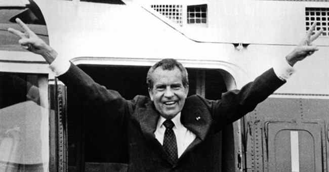 Recordings reveal final days of Nixon White House