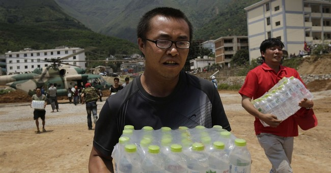 Volunteers step up in China's response to quake