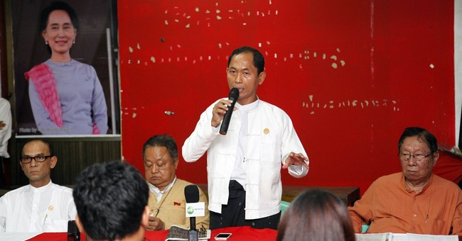 Nearly 5M sign up for changing Myanmar charter