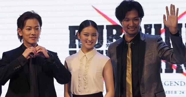 'Rurouni Kenshin: Kyoto Inferno' stars in Manila