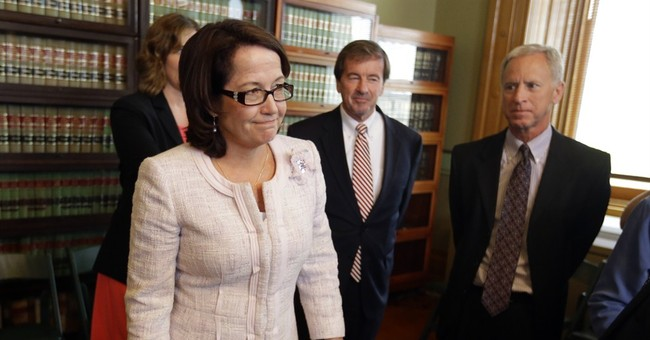 Rush to be 1st woman to lead Indiana Supreme Court