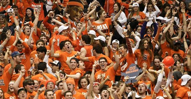 Syracuse chief: No. 1 party school label not OK
