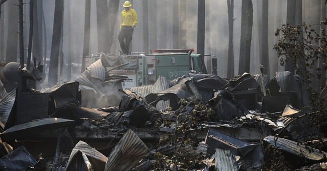 Man charged with starting massive California blaze