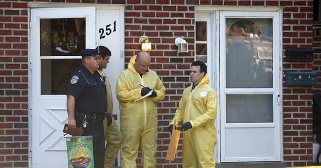 Police: Slaying suspect dead; 2 boys safe