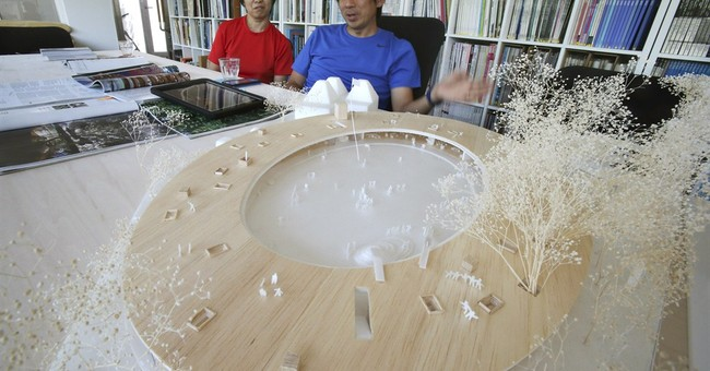 Japan architects sell a lifestyle on global stage