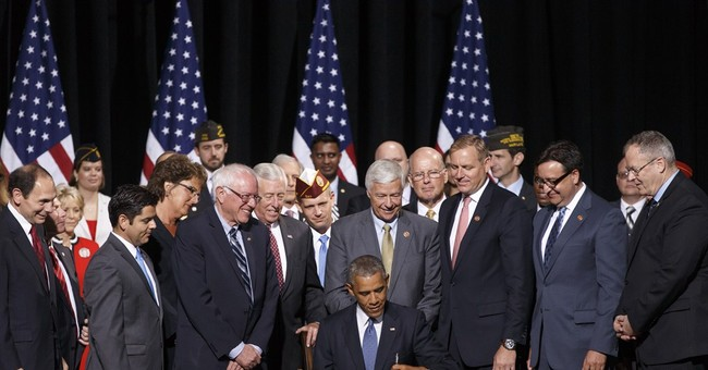 Boost for vets' health: Obama signs new law