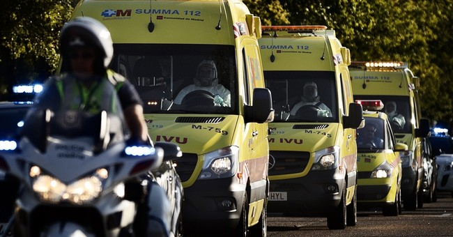 Spain priest with Ebola stable in Madrid hospital